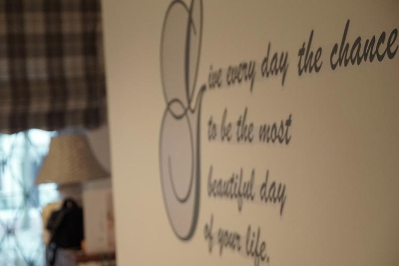 bedroom motto
